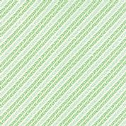Moda North Woods by Kate Spain - 4818 - Garland, Diagonal Stripe Leaf Print, Green & Pale Aqua - 27248 16 - Cotton Fabric